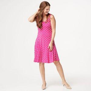 👑Coming soon!👑 Susan Graver polka dot dress